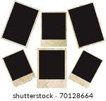 blank grunge photo frame ready... | Shutterstock . vector #70128664