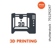 3d printer icon  additive...