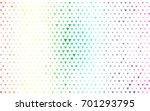 light multicolor  rainbow... | Shutterstock .eps vector #701293795