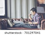 in selective focus to soft... | Shutterstock . vector #701297041