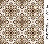 vector seamless pattern... | Shutterstock .eps vector #701297167
