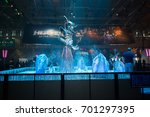 cologne  germany  august 22 ... | Shutterstock . vector #701297395