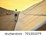 in the solar photovoltaic area... | Shutterstock . vector #701301079