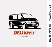 delivery and shipping service... | Shutterstock .eps vector #701302735