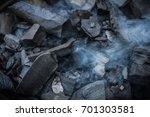 smoky charcoal | Shutterstock . vector #701303581