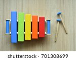 xylophone toy | Shutterstock . vector #701308699