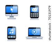 digital electrical appliance... | Shutterstock .eps vector #70131979