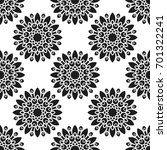 seamless pattern with abstract...   Shutterstock .eps vector #701322241