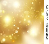 gold new year abstract glitter... | Shutterstock .eps vector #701340499