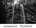 naturally beautiful twin falls... | Shutterstock . vector #701356519