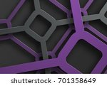design background with a cobweb ... | Shutterstock .eps vector #701358649
