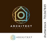 architect initial letter o logo ...