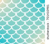 fish skin on trendy gradient... | Shutterstock .eps vector #701410981