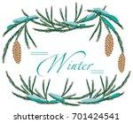 illustration on white... | Shutterstock .eps vector #701424541