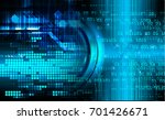 binary circuit future... | Shutterstock . vector #701426671
