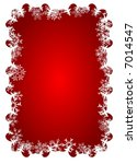 christmas ornament decoration | Shutterstock . vector #7014547