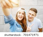 capturing bright moments.... | Shutterstock . vector #701471971