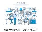 schooling concept. corporate... | Shutterstock .eps vector #701478961