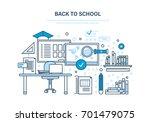 back to school concept.... | Shutterstock .eps vector #701479075