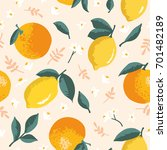 Vector Summer Pattern With...