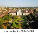 Aerial View Of Jackson Square...