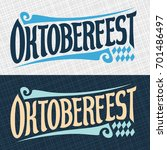 vector banners for beer... | Shutterstock .eps vector #701486497