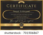 certificate  diploma of... | Shutterstock .eps vector #701506867