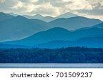 Adirondacks Mountains From Lak...