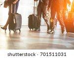 close up of businessman team... | Shutterstock . vector #701511031