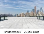 panoramic skyline and buildings ... | Shutterstock . vector #701511805