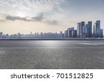 panoramic skyline and buildings ... | Shutterstock . vector #701512825