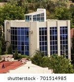 beautiful modern house | Shutterstock . vector #701514985