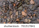 group of river stone decoration ... | Shutterstock . vector #701517841