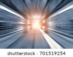 blurred image of the s bahn... | Shutterstock . vector #701519254
