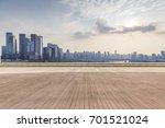 panoramic skyline and buildings ... | Shutterstock . vector #701521024