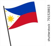 flag of philippine   philippine ... | Shutterstock .eps vector #701528815