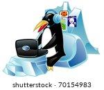 global communications penguin...