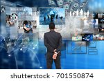 globalization business. | Shutterstock . vector #701550874