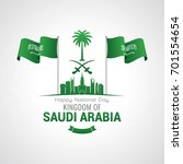 kingdom of saudi arabia... | Shutterstock .eps vector #701554654