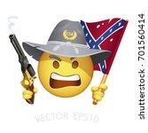 Rebel Yell Smiley. Raging...