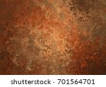 Red Rusty Background  Grunge...