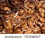 walnuts raw | Shutterstock . vector #701568427