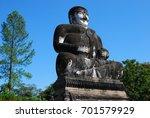 thai buddha statue. | Shutterstock . vector #701579929