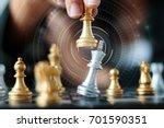 close up shot hand of business...   Shutterstock . vector #701590351