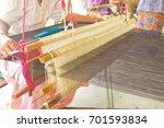 Thailand Silk Woven By Local...