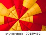 inside of a yellow and red hot... | Shutterstock . vector #70159492
