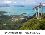 langkawi skybridge malaysia the ... | Shutterstock . vector #701598739