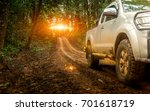 off road travel on mountain... | Shutterstock . vector #701618719