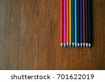 color pencils  crayons  top... | Shutterstock . vector #701622019