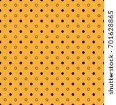 seamless abstract polka dot... | Shutterstock .eps vector #701628865